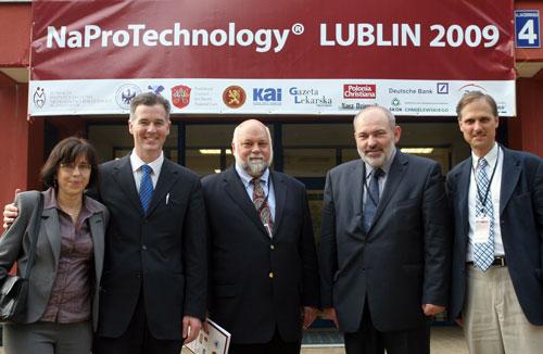 Od lewej: Dr Anna Dzioba, Dr Phil Boyle, Dr Mark Stegman, Dr Maciej Barczentewicz i Prof. Joseph Stanford